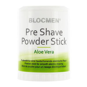 BlocMen Aloe Vera Pre Shave Powder Stick New